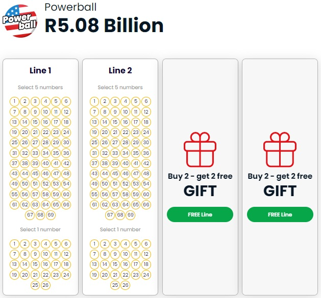 Play US Powerball Online